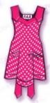 pink apron post size